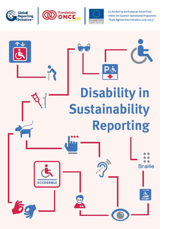 okładka - Disability in Sustainability Reporting