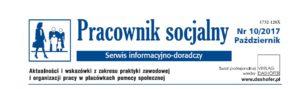Pracownik Socjalny 10.2017 - strona 1