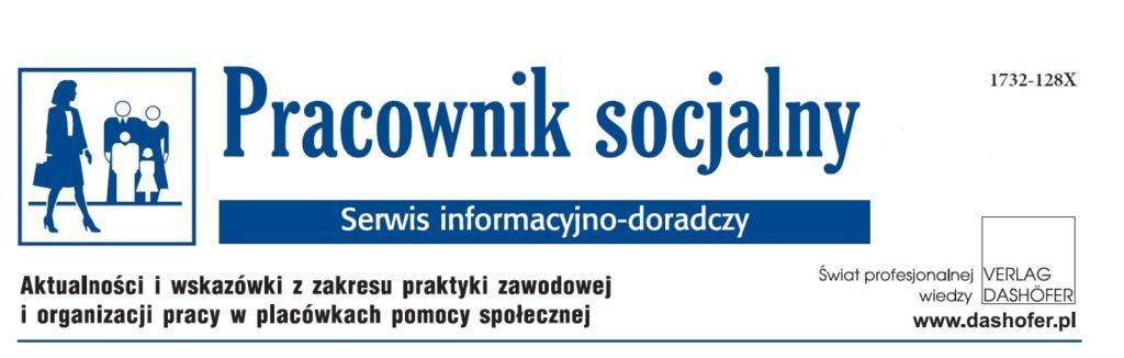 okładka miesięcznika Pracownik socjalny